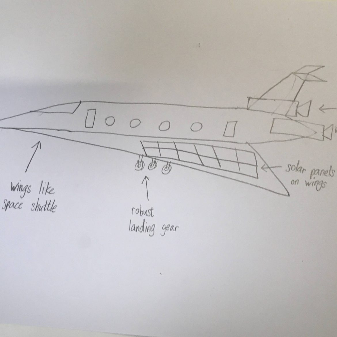Commercial Space Airplane