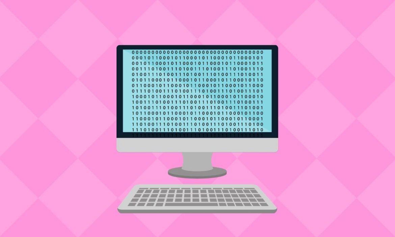 Computer using binary